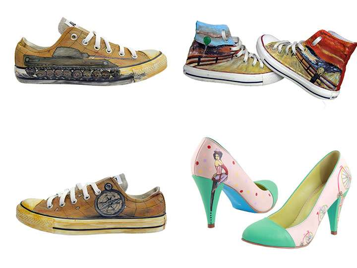 Pantofi personalizati
