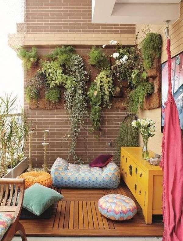 gradina verticala in balcon