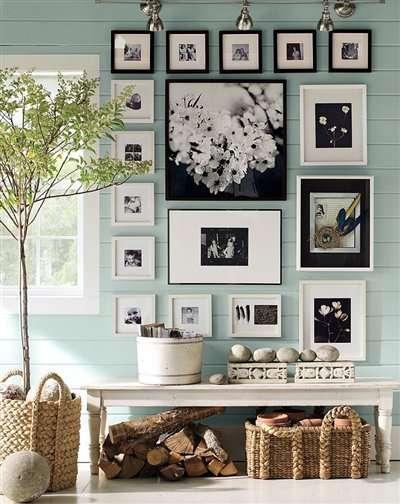 cum sa decorezi un perete cu poze